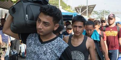 Nieuwe karavaan migranten bereikt Mexico