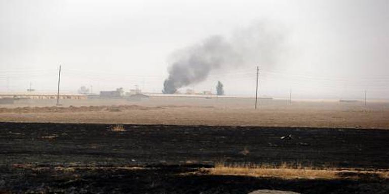 Iraakse militairen in Mosul