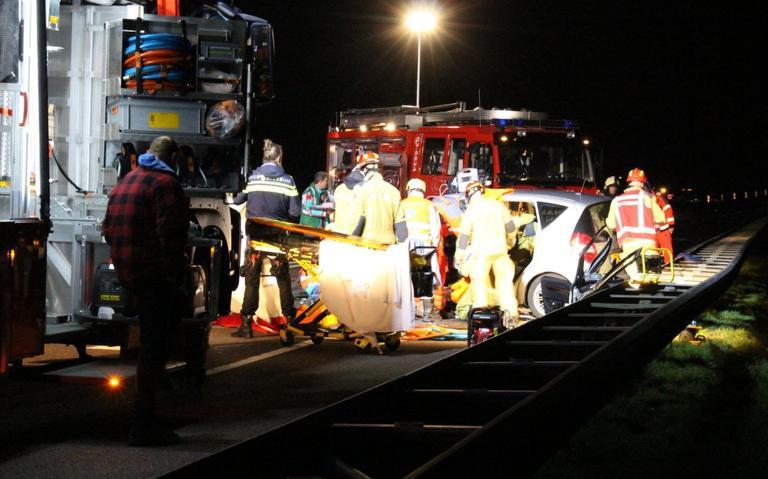 Twee ongevallen op N34 bij Emmen met minstens vijf gewonden.