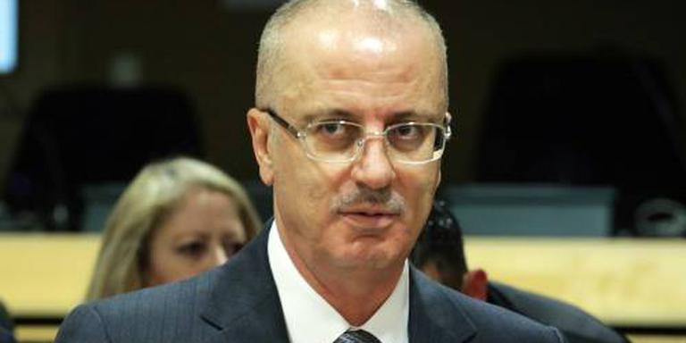 Palestijnse premier ontsnapt aan aanslag