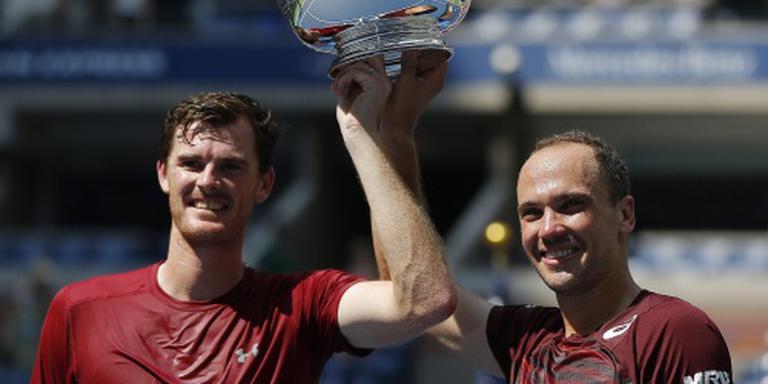 Murray en Soares winnen dubbelspel US Open