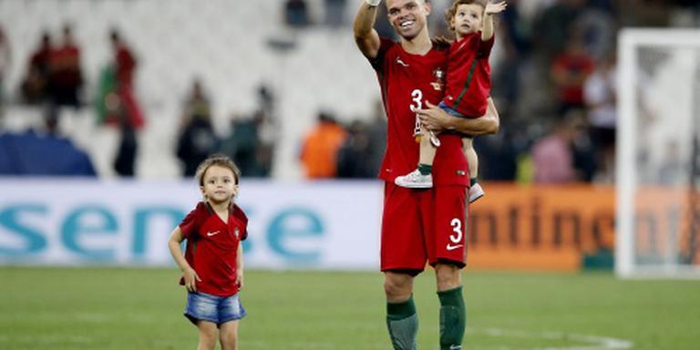 Portugal hoopt op Pepe