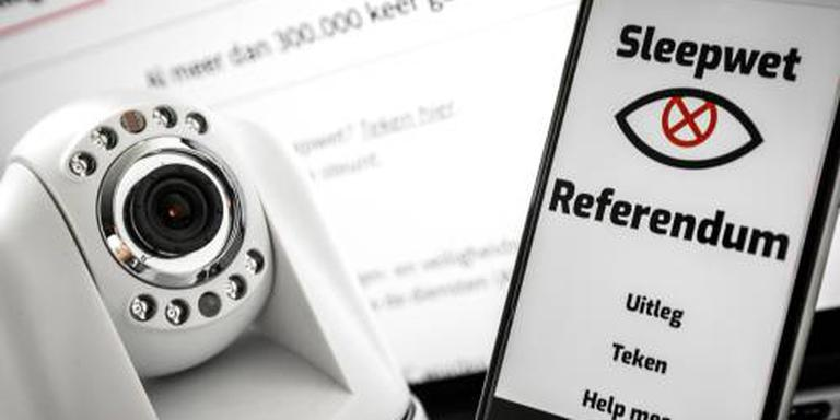 2 miljoen subsidie voor referendum aftapwet