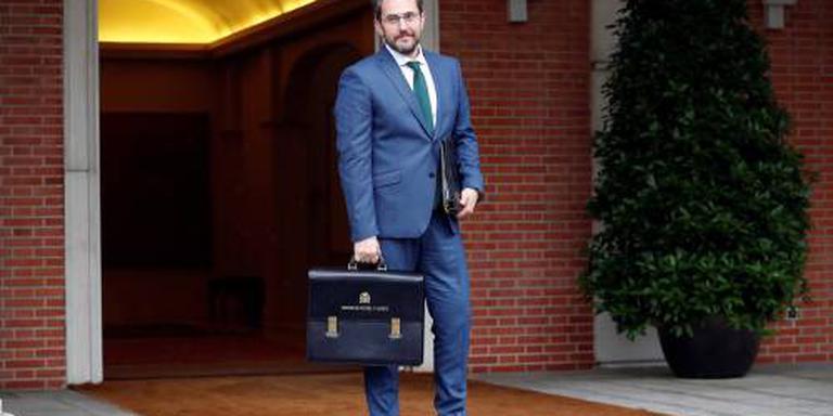 Spaanse minister van Cultuur stapt op
