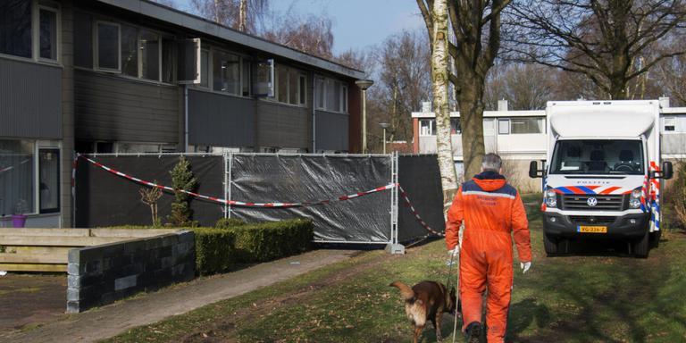 Het huis aan de Weytackers in Emmen. FOTO ARCHIEF DVHN