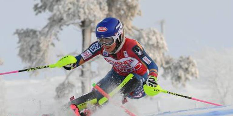 Shiffrin sterkste in slalom Killington