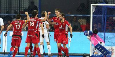 Belgen naar halve finales op WK hockey