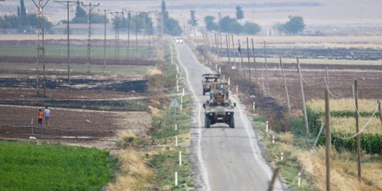 Gewonden bij explosie Turkse grensplaats