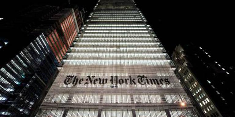 New York Times belooft onpartijdige berichten