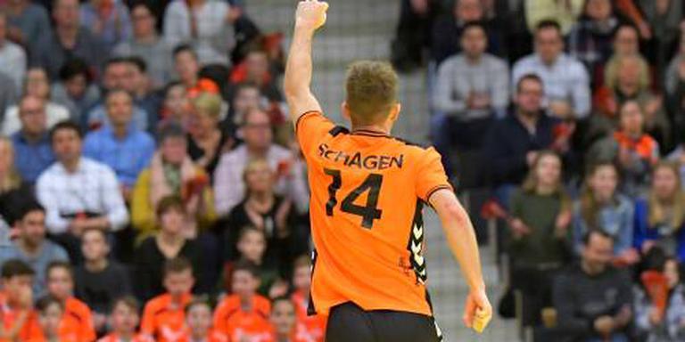Nieuwe Duitse club handballer Schagen