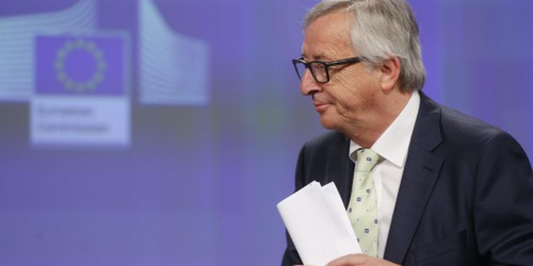 Juncker wil geen kat-en-muisspel met Britten