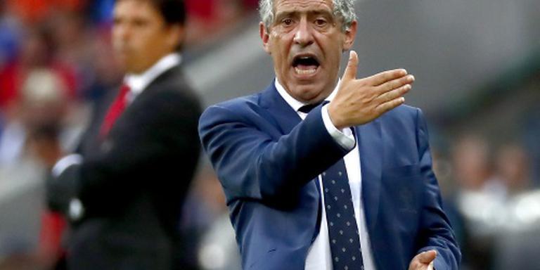 Santos eist respect voor Portugal