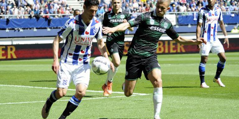 Groningen wint derby in Heerenveen