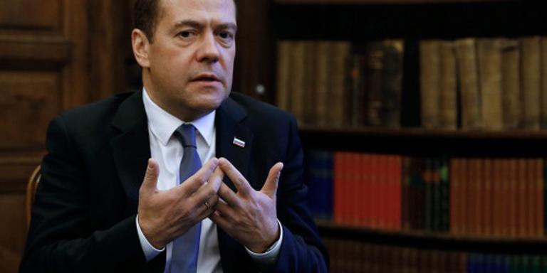 Medvedev noemt EU-migrantenpolitiek blunder