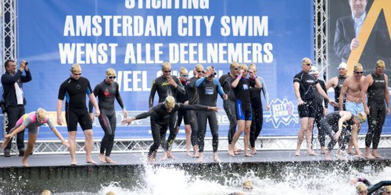 In navolging van o.a. Amsterdam en Zwolle krijgt ook Meppel een 'city swim'. FOTO ANP
