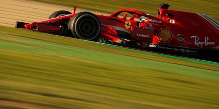 Vettel flink sneller dan Verstappen
