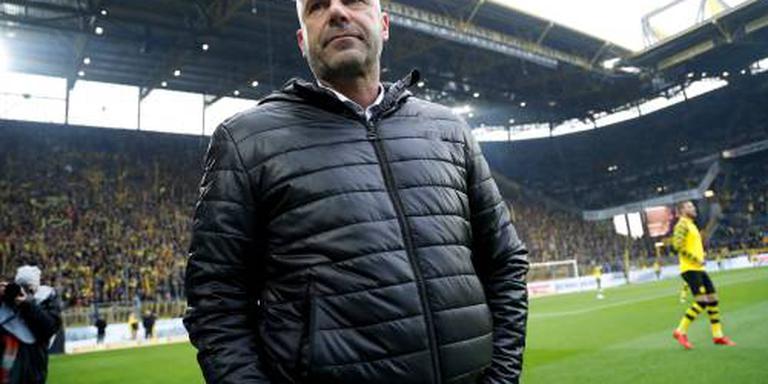 Bosz geeft met Dortmund voorsprong van 4-0 weg