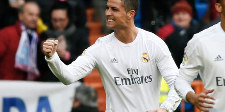Ronaldo maakt er vier voor Real
