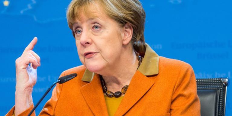Merkel: maandelijks 3000 Irakezen naar huis