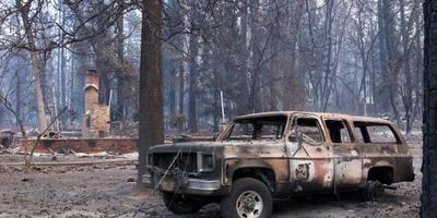 Na branden wacht Californië regen