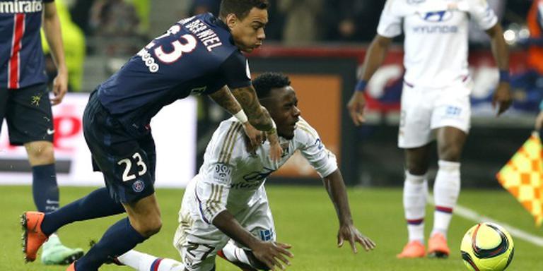 Van der Wiel terug bij Paris Saint-Germain