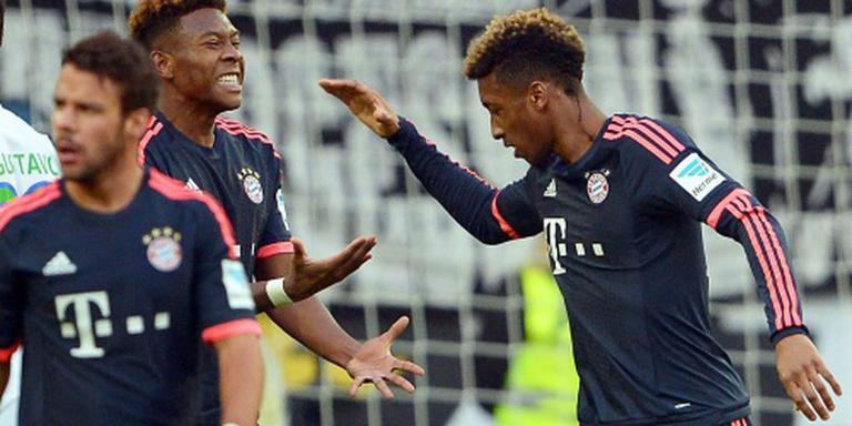 Bayern wint ook van VfL Wolfsburg