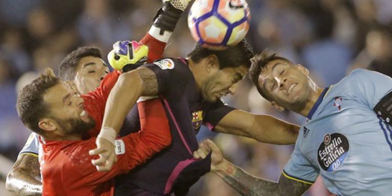 FC Barcelona weer onderuit bij Celta
