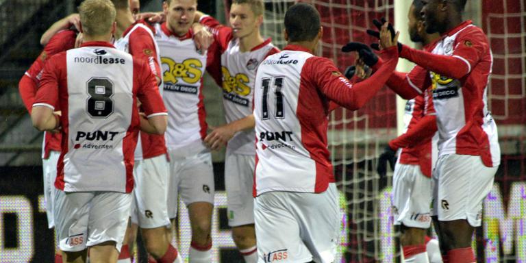FC Emmen niet goed, maar wel drie punten