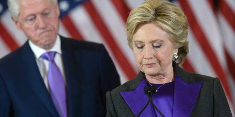 Clinton kroop het liefst met boek op de bank