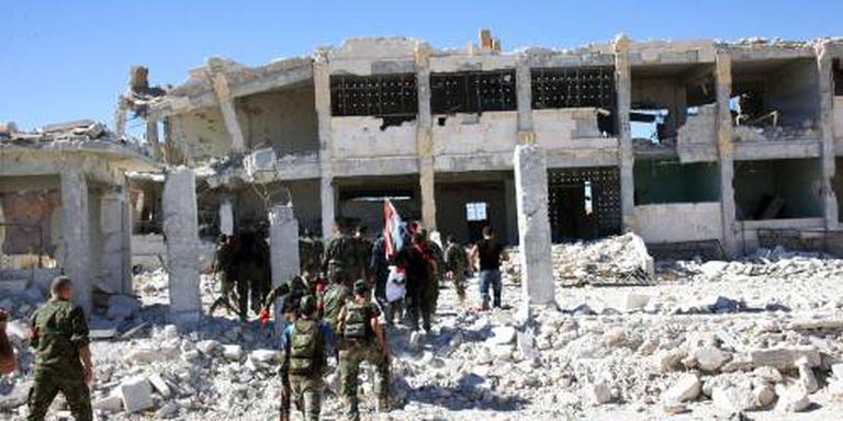 Leger Syrië verlengt gevechtspauze Aleppo