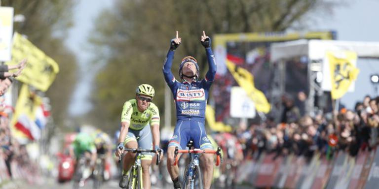Gasparotto wint Amstel Gold Race