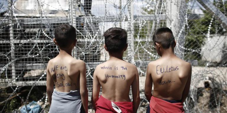 'Vluchtelingenkamp Idomeni maandag ontruimd'