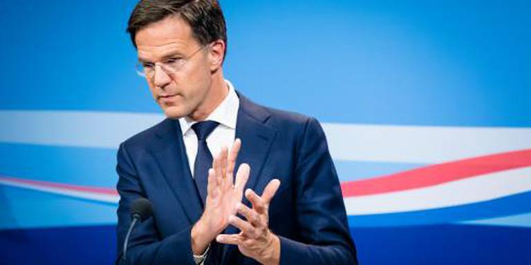 Vier ministers vallen in voor Rutte