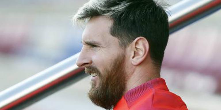 Zieke Messi ontbreekt bij Barcelona