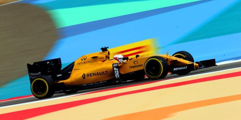 Magnussen moet uit pits starten in Bahrein