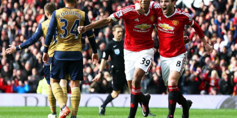 Manchester wint dankzij Rashford