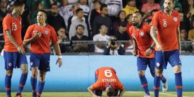 Chili wint oefenduel bij Mexico
