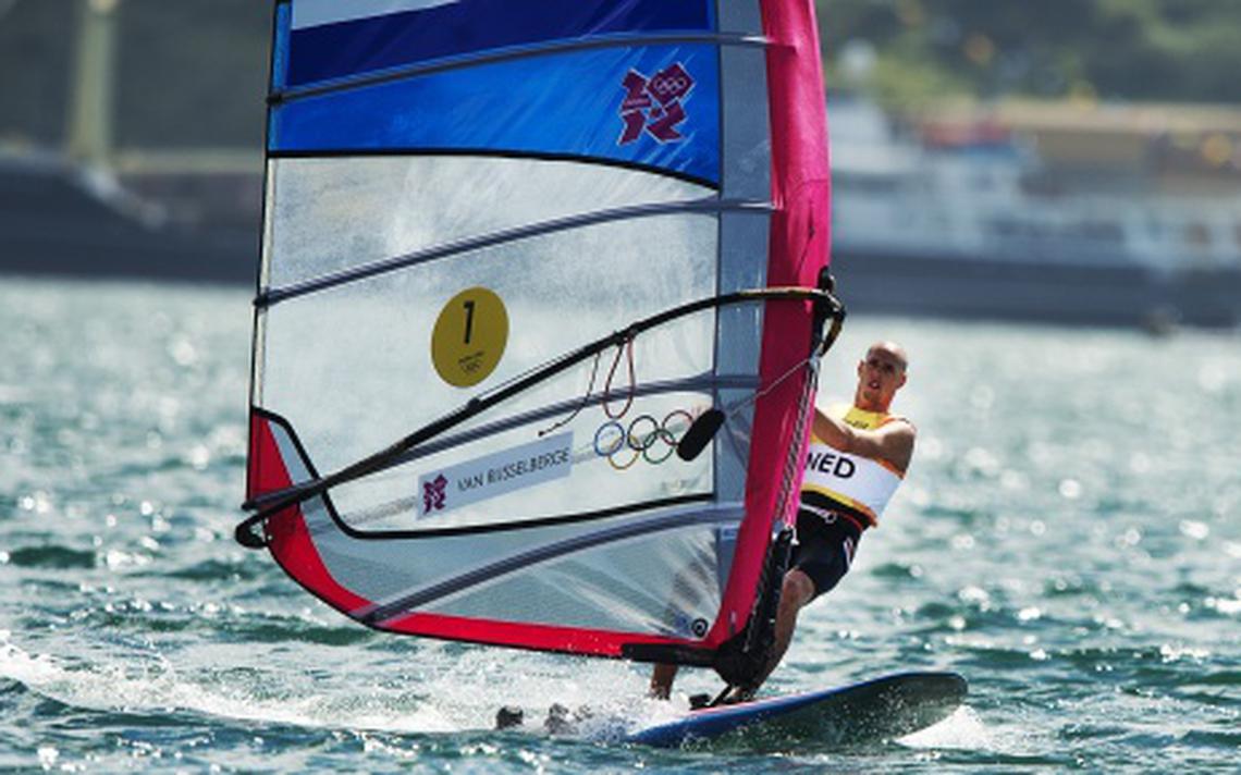 Van Rijsselberghe wint medalrace  goud   Sport   DVHN nl