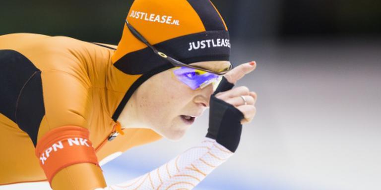 Wüst prolongeert titel op 3000 meter
