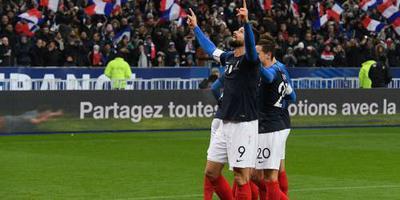 Frankrijk verslaat Uruguay