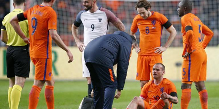 Sneijder ontbreekt tegen Engeland