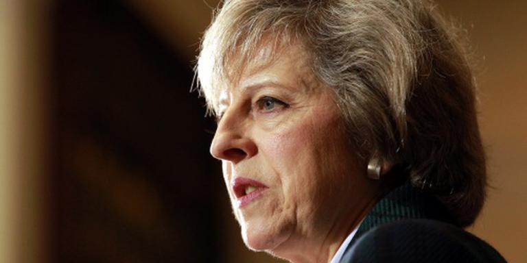 Theresa May wint eerste verkiezingsronde