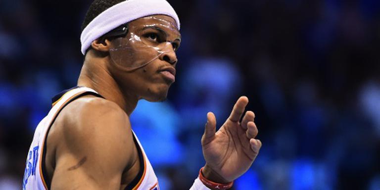 Westbrook en Durant op dreef bij Thunder