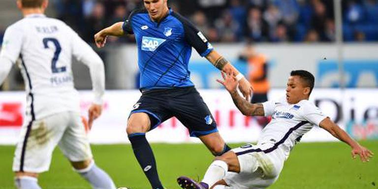 Hoffenheim derde na winst op Hertha