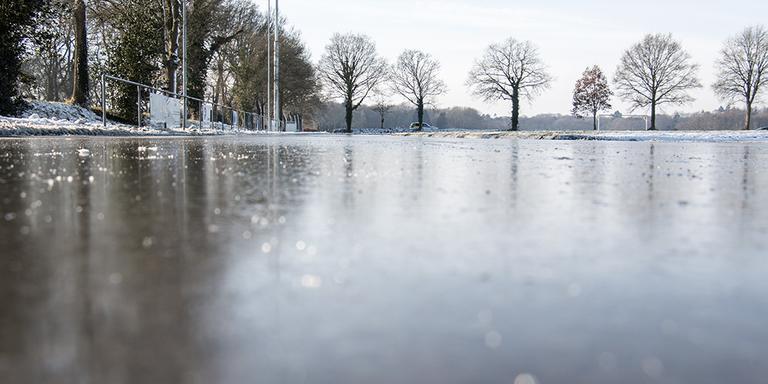 De ijsbaan in Noordlaren