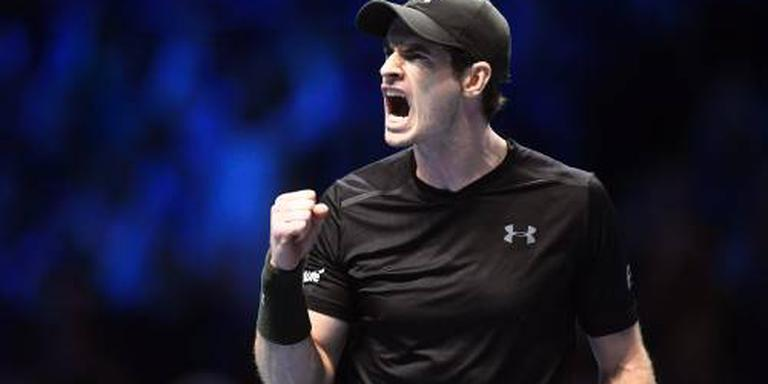 Murray naar halve finales in Londen