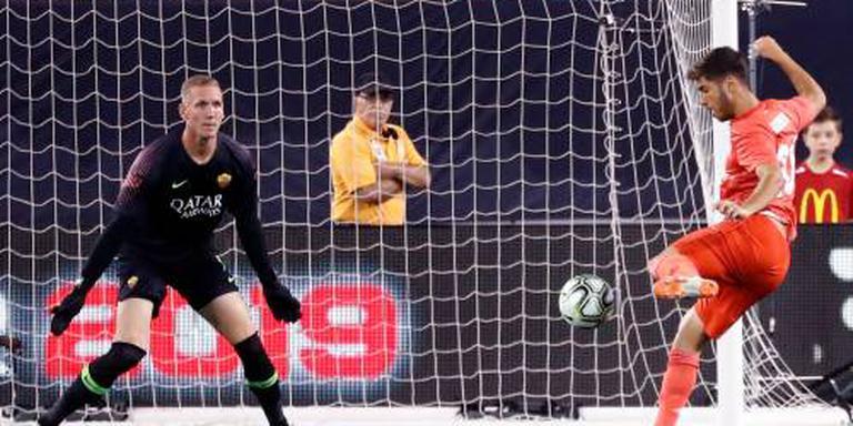 Real in oefenduel te sterk voor AS Roma