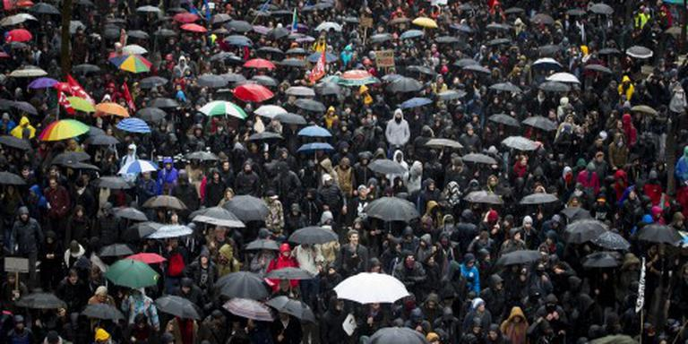 Massaal protest tegen arbeidswet Frankrijk