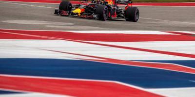 Verstappen tweede in Austin na inhaalrace