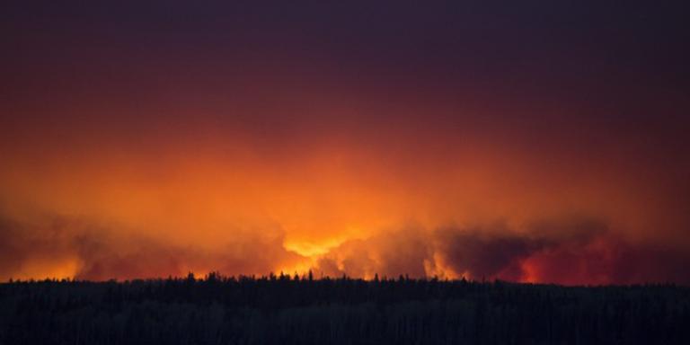 De Drentse brandweer is extra alert op natuurbranden. FOTO ANP